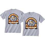 New World Graphics Men's Tennessee Volunteers Grey Equals T-Shirt