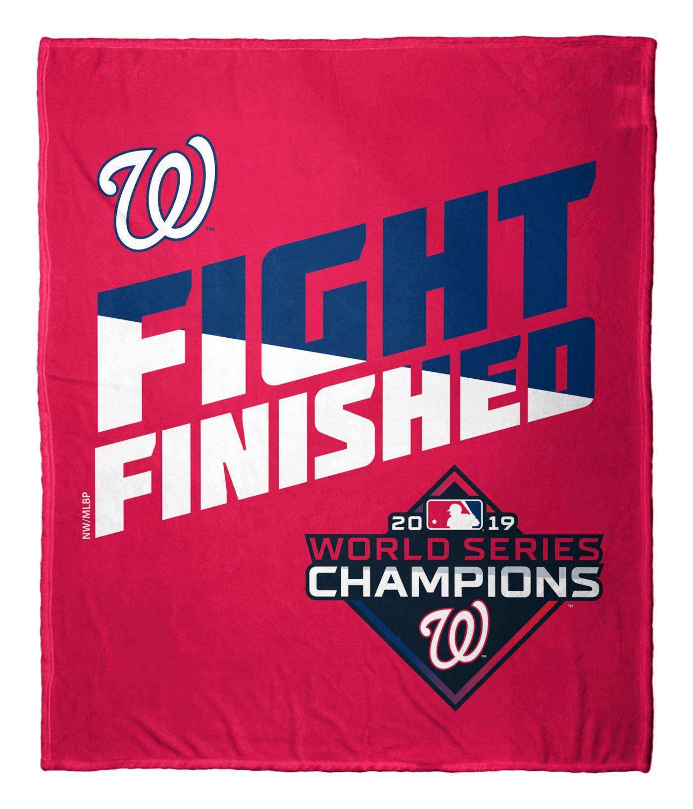 Northwest Washington Nationals Fight Finished Blanket