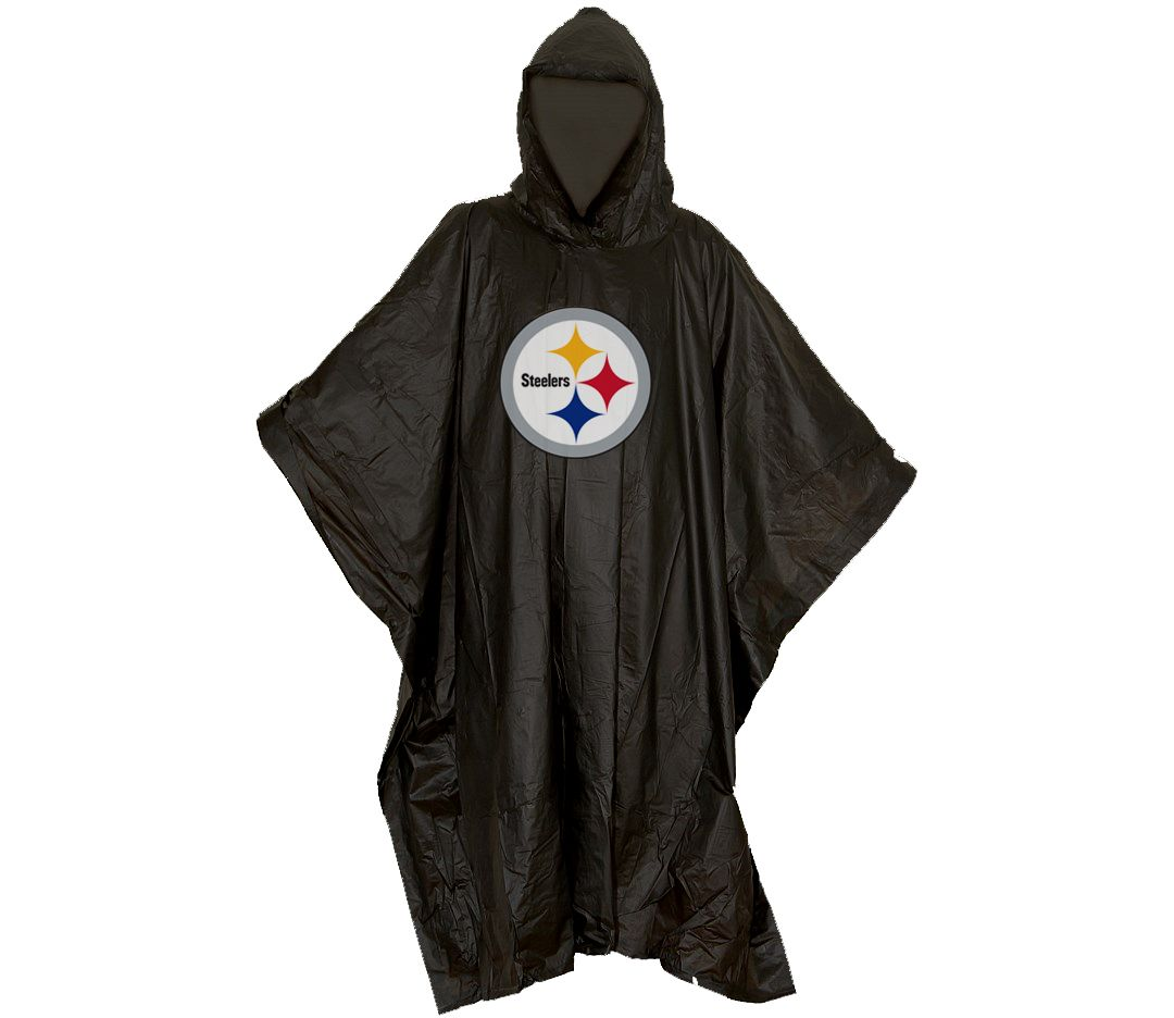 new photos 7bf71 a1a8a Northwest Pittsburgh Steelers Poncho