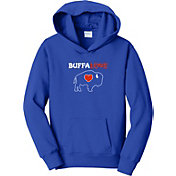 BuffaLove Youth Royal Traditional Pullover Hoodie
