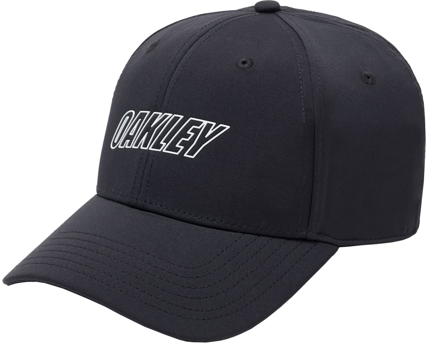 Oakley Men's 6 Panel Waved Golf Hat