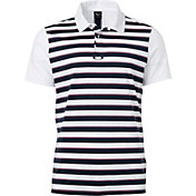 Oakley Men's Horizontal Stripe Golf Polo