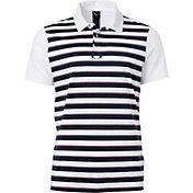 Oakley Men's Horizontal Stripe Golf Polo
