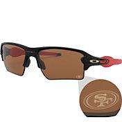 Oakley San Francisco 49ers Oak Flak 2.0 XL Sunglasses