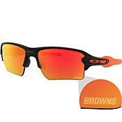 Oakley Cleveland Browns Oak Flak 2.0 XL Sunglasses