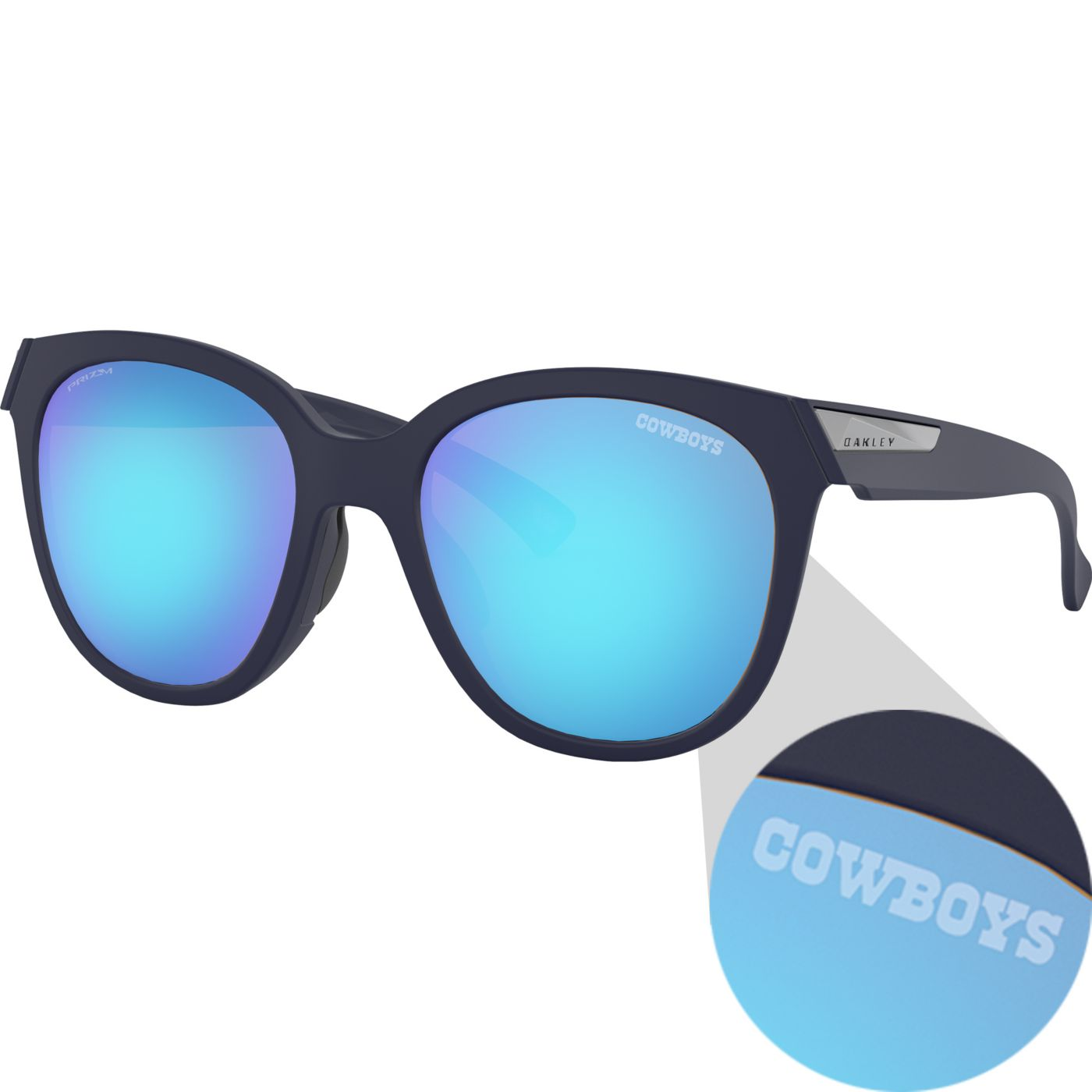 Oakley Dallas Cowboys Women's Low Key Sunglasses