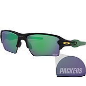 Oakley Green Bay Packers Oak Flak 2.0 XL Sunglasses