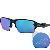 Oakley Carolina Panthers Oak Flak 2.0 XL Sunglasses