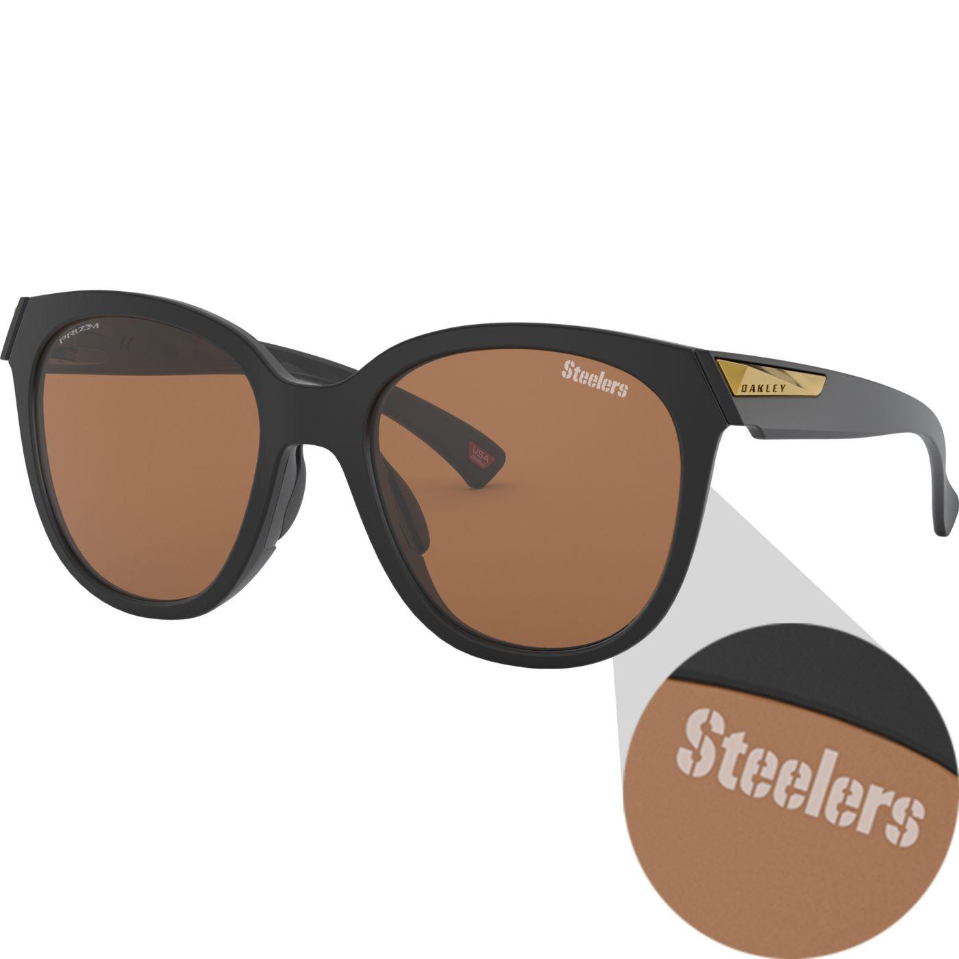 Oakley Pittsburgh Steelers Women's Low Key Sunglasses