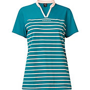 Oakley Women's Bella Striped Short Sleeve Golf Polo