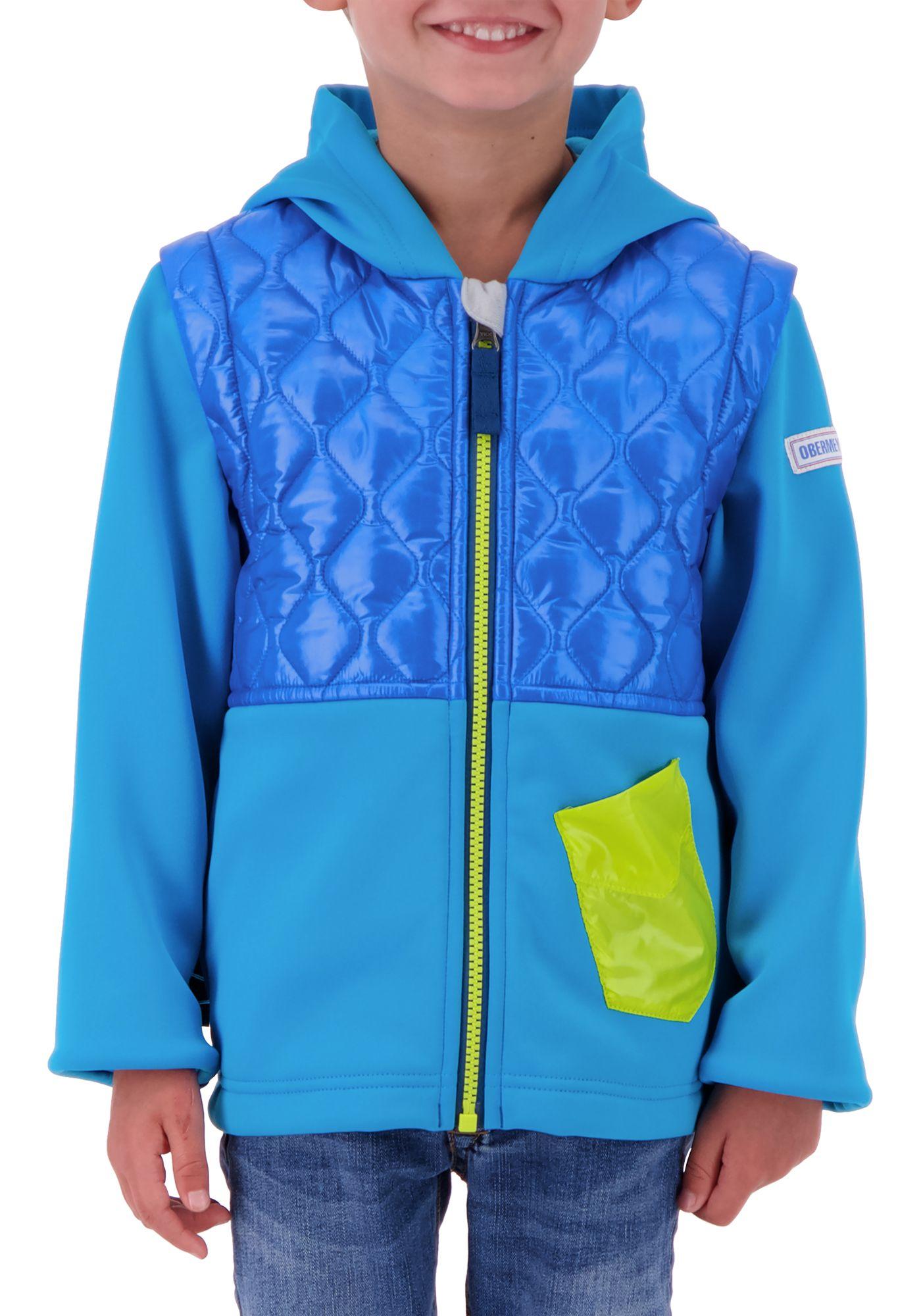 Obermeyer Boys' Hayden Hybrid Fleece Jacket