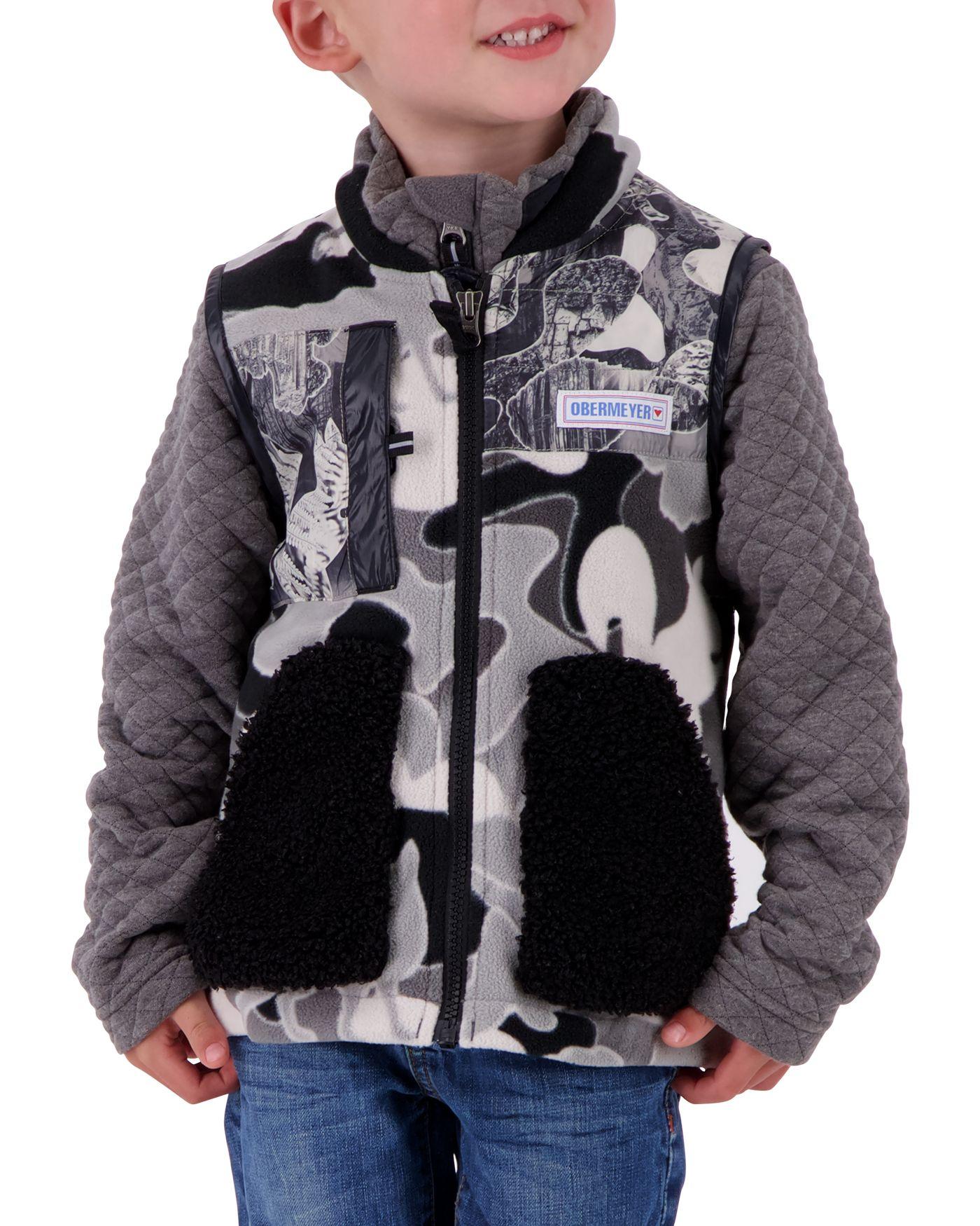 Obermeyer Boys' Indy Full Zip Fleece Vest
