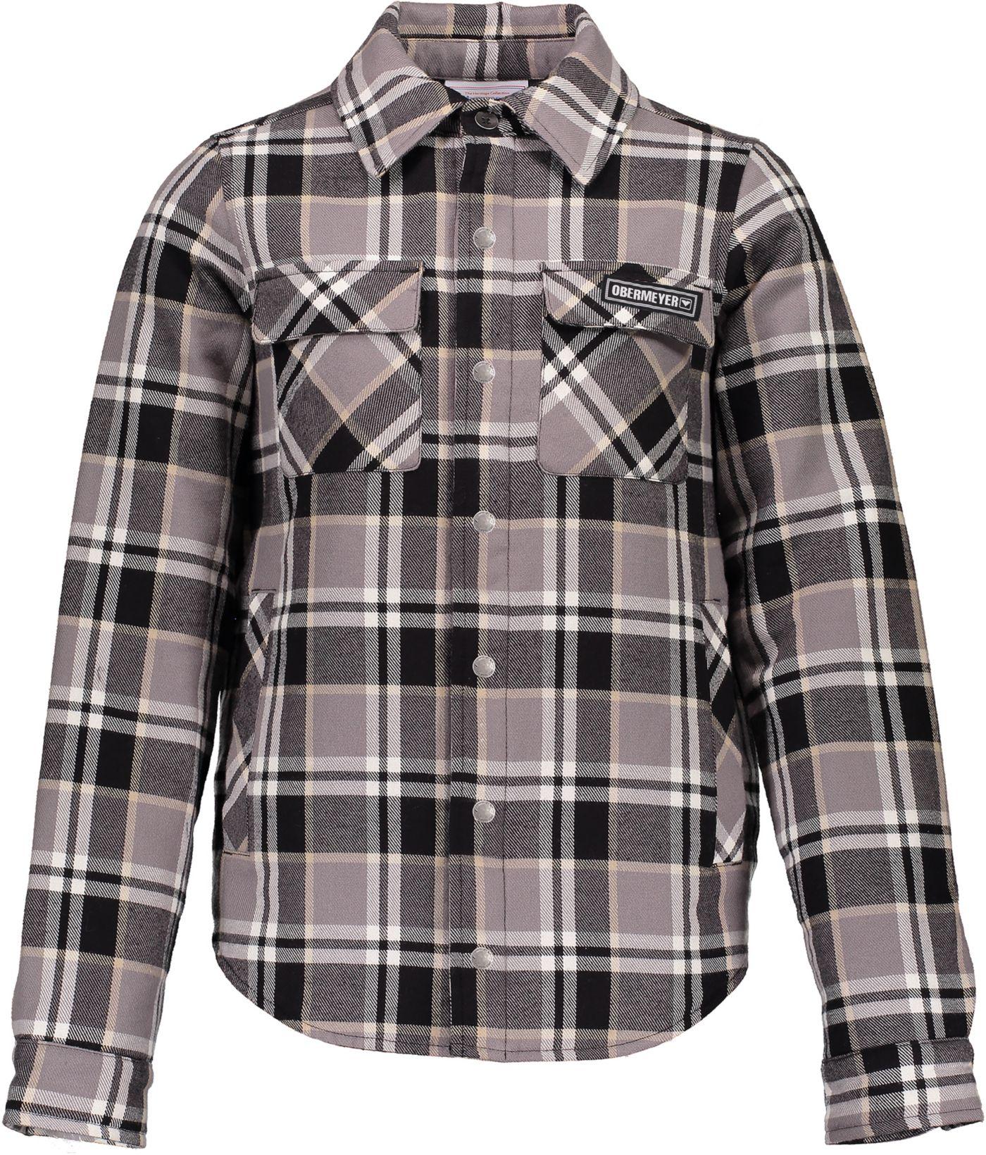 Obermeyer Teen Boys' Avery Flannel Shirt