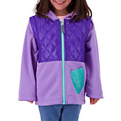 Obermeyer Girls' Hayden Hybrid Full Zip Fleece Jacket