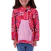 Obermeyer Girls' Aiya Half Zip Fleece Pullover Hoodie
