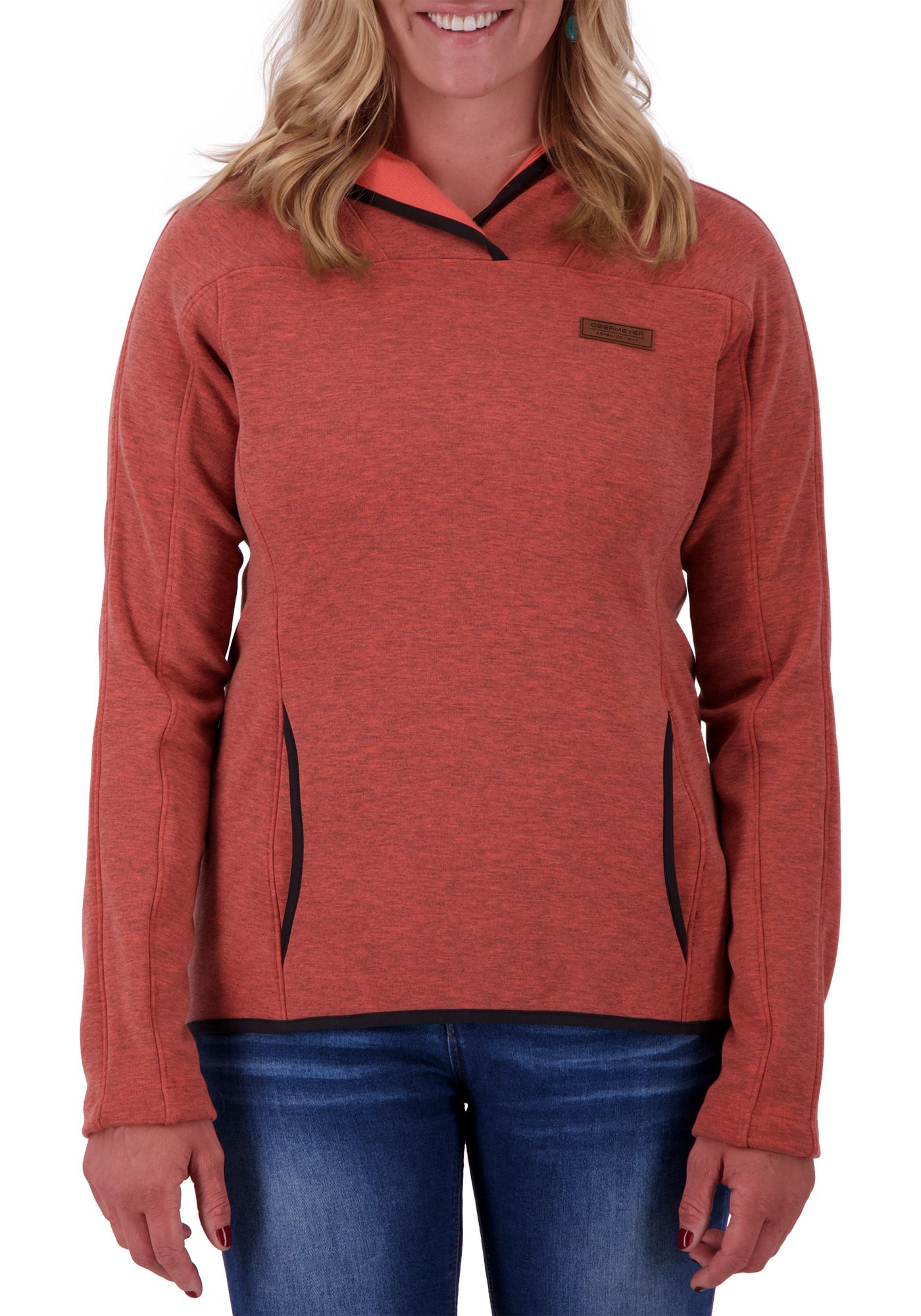 Obermeyer Women's Lila Fleece Pullover Hoodie
