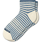 Bombas Adult Stripe Pique Quarter Socks