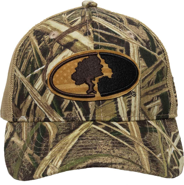Outdoor Cap Co Men's Mossy Oak Logo Meshback Hat, Size: No Size, Blades
