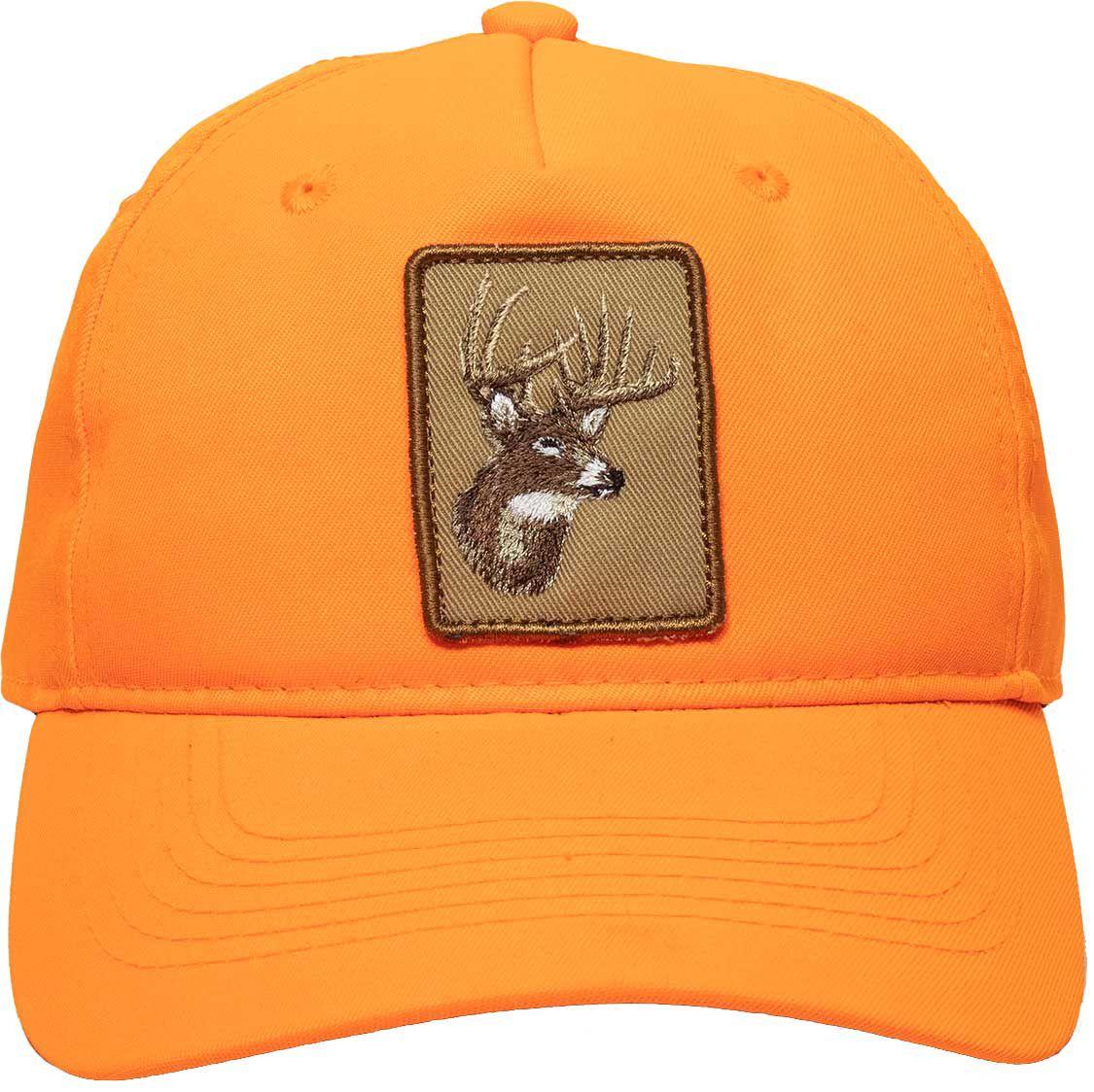 Outdoor Cap Co Men's Deer Patch Opener Hat, No Size, Blaze