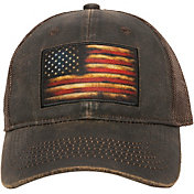 Outdoor Cap Co Men's Flag Patch Mesh Snapback Hat