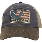 Outdoor Cap Men's Mossy Oak Logo Americana Hat