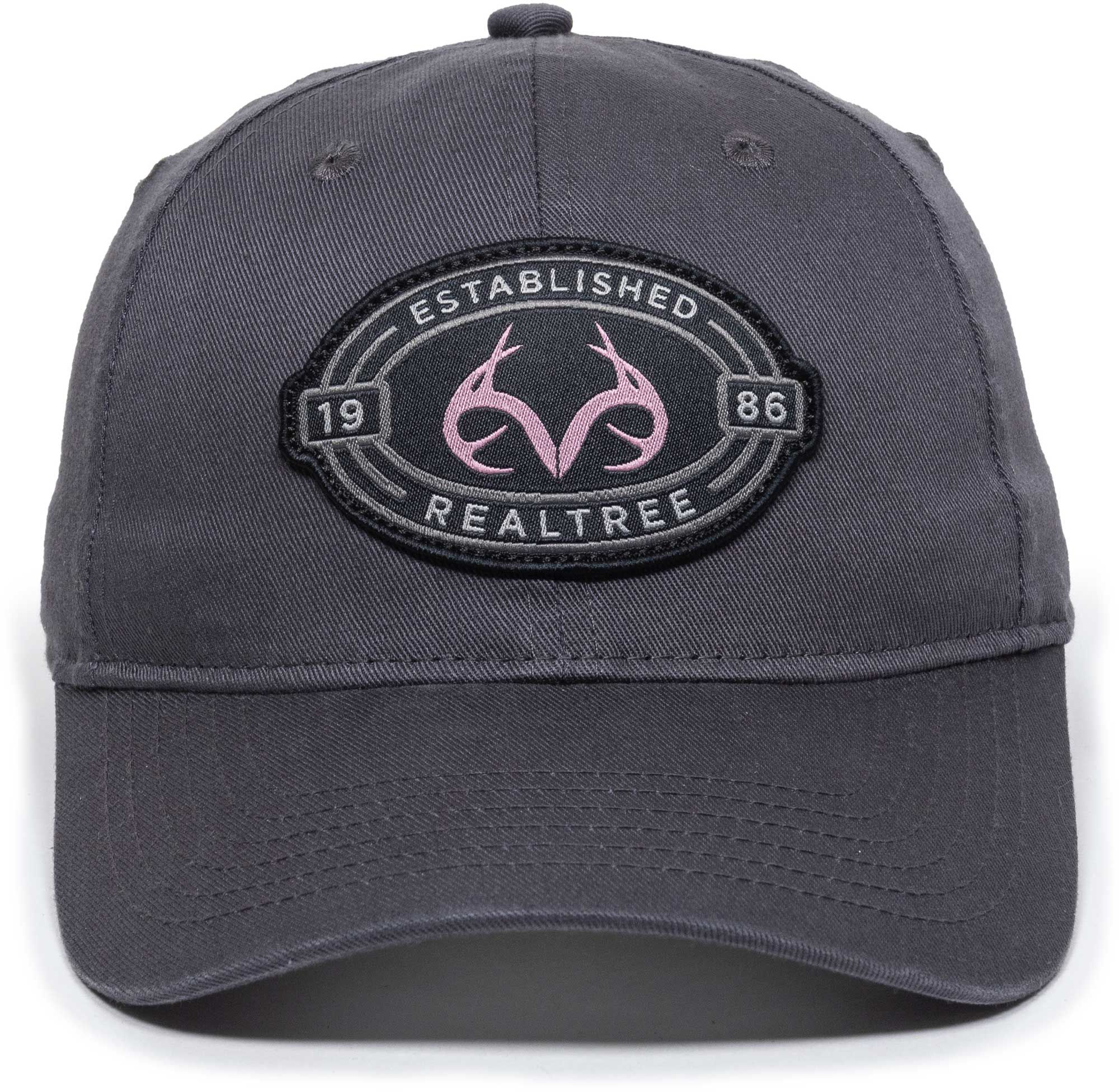 Outdoor Cap Women's Realtree Casual Ponytail Hat, Size: One size, Grey