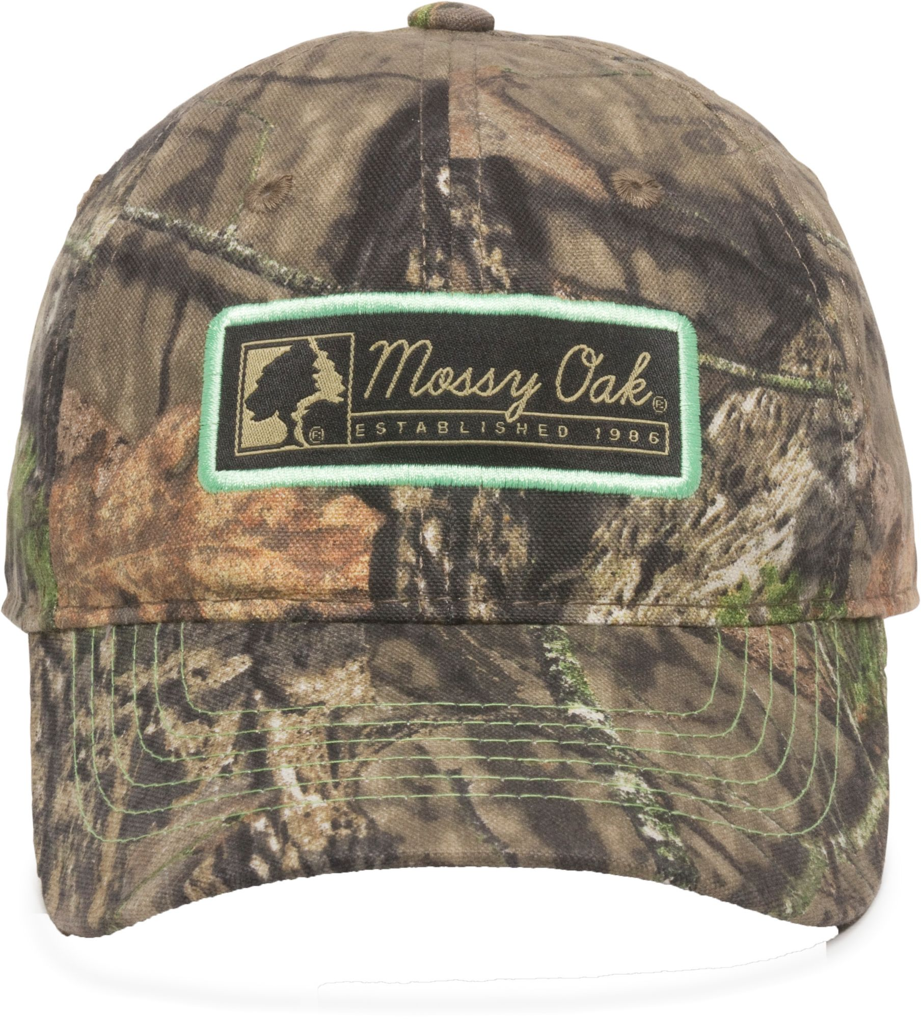 Outdoor Cap Co Women's Mossy Oak Mint Patch Hat, Green