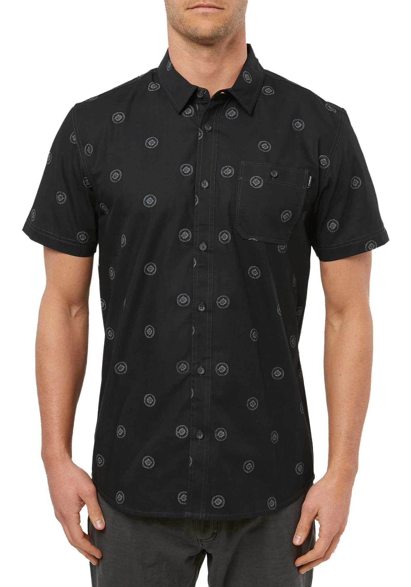 O'Neill Men's Benny Mix Pack Short Sleeve Button Down Shirt
