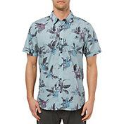 O'Neill Men's Fiiore Short Sleeve Button Down Shirt