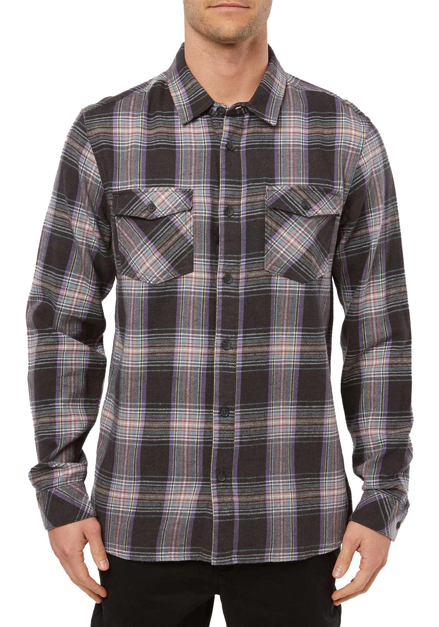 O'Neill Men's Highlands Long Sleeve Flannel Shirt