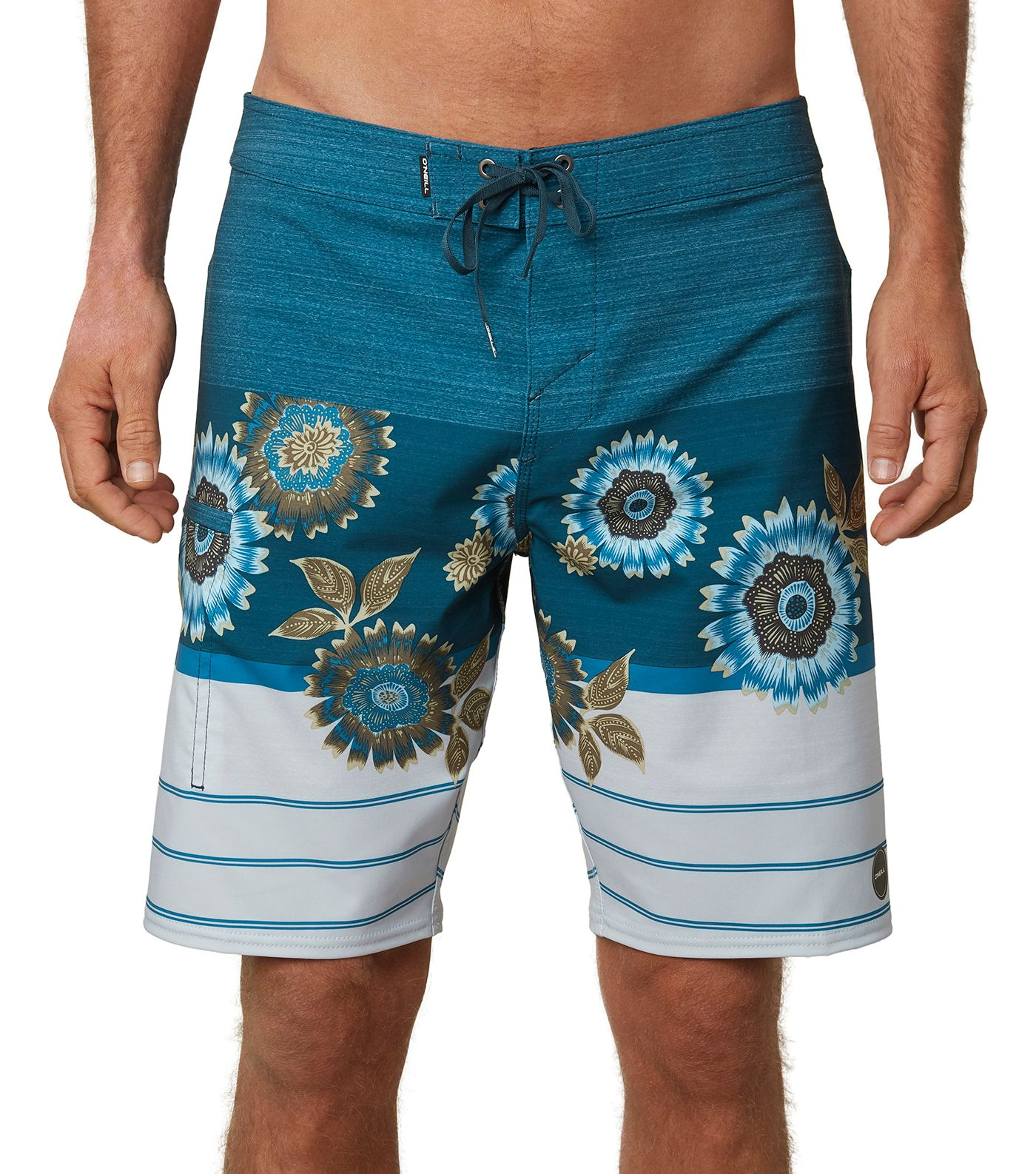 O'Neill Men's Hyperfreak Heist Print Board Shorts