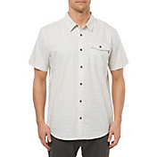 O'Neill Men's Ionic Woven Short Sleeve Button Down Shirt