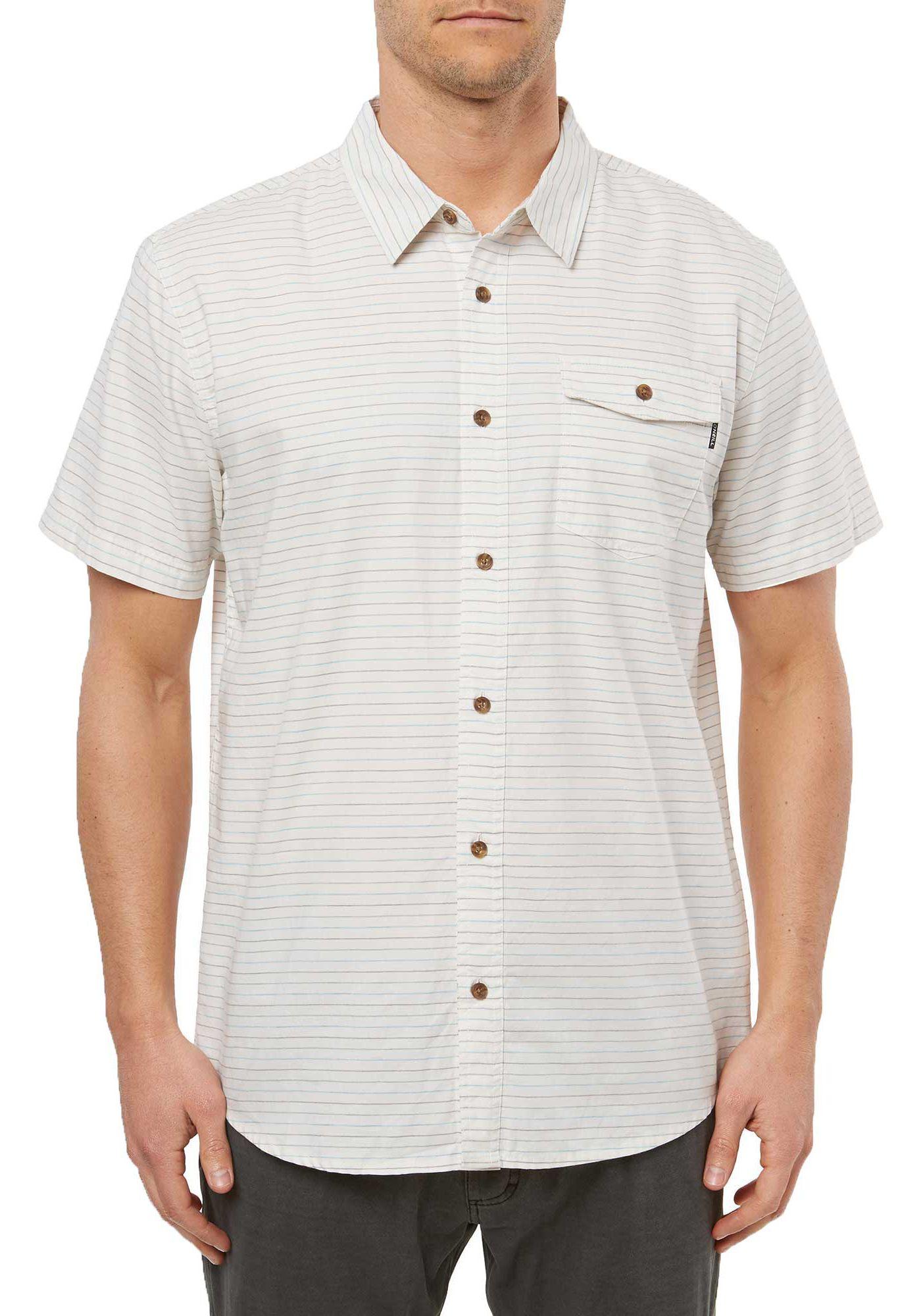 O'Neill Men's Ionic Woven Short Sleeve Button Down Shirt