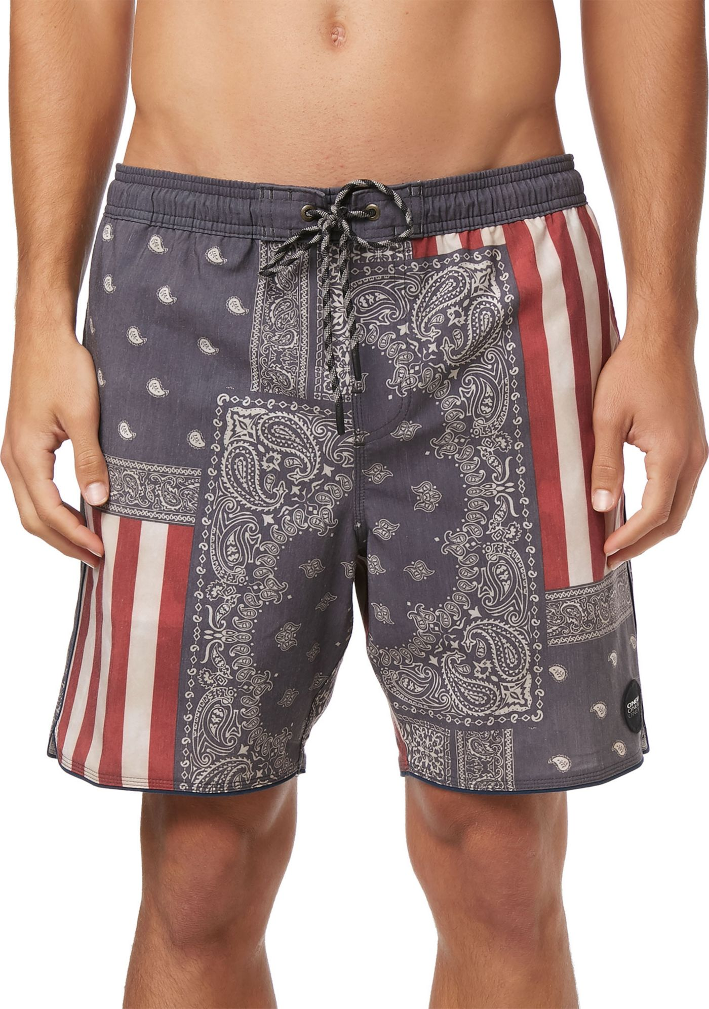 O'Neill Men's Patches Volley Cruzer Board Shorts