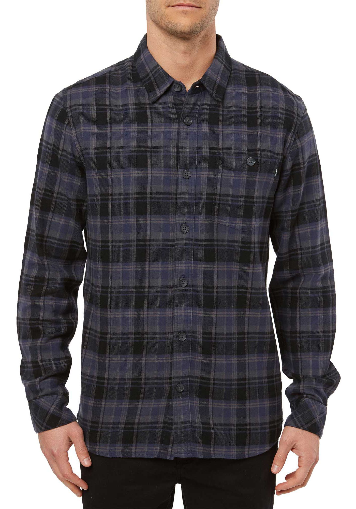 O'Neill Men's Redmond Long Sleeve Flannel Shirt