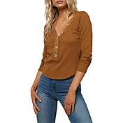 O'Neill Women's Riell Henley Long Sleeve Shirt