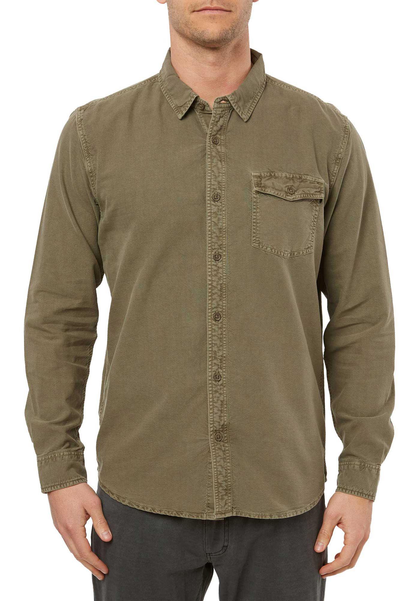 O'Neill Men's Steaddy Long Sleeve Button Down Shirt