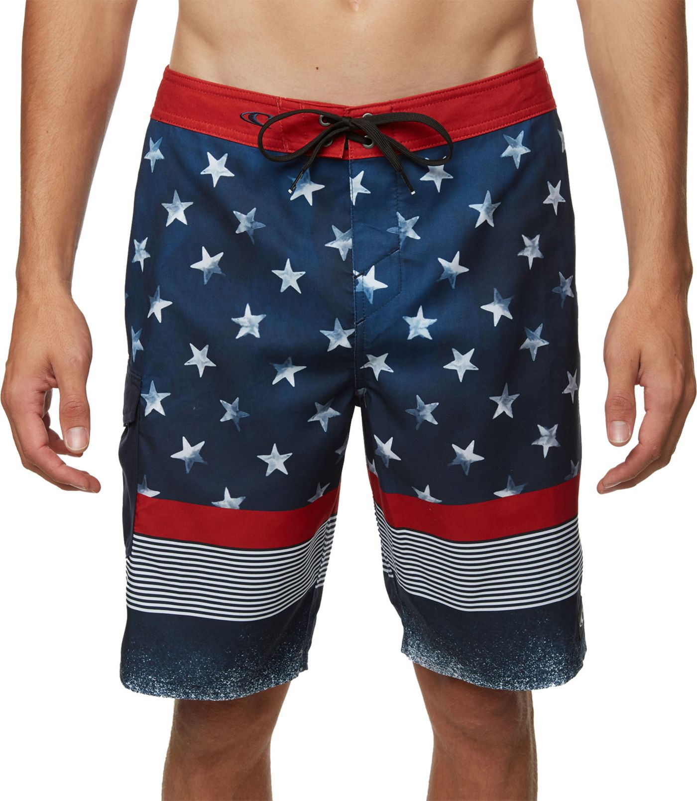 O'Neill Men's Star N Stripes Board Shorts