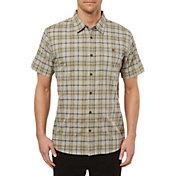 O'Neill Men's Static Plaid Short Sleeve Button Down Shirt