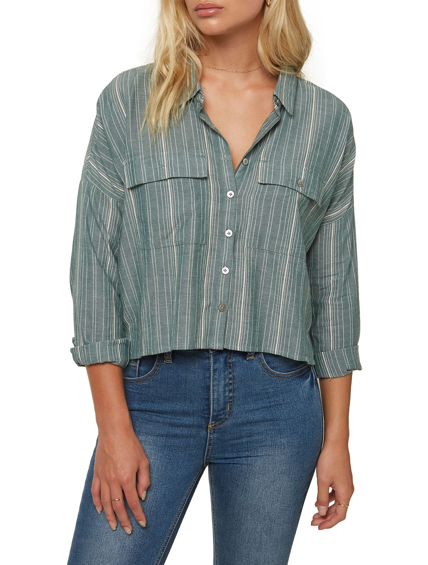 O'Neill Women's Borrego Stripe Top