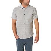 O'Neill Men's Brewster Stripe Woven Button Down Shirt