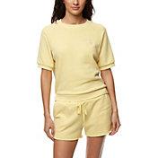 O'Neill Women's Comfort French Terry Short Sleeve Shirt