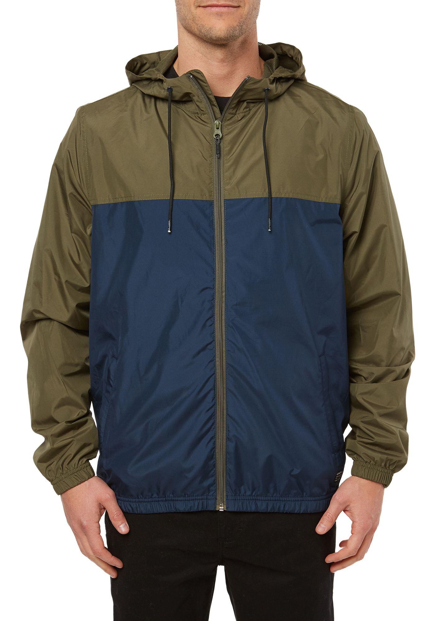 O'Neill Men's Del Ray Windbreaker Jacket