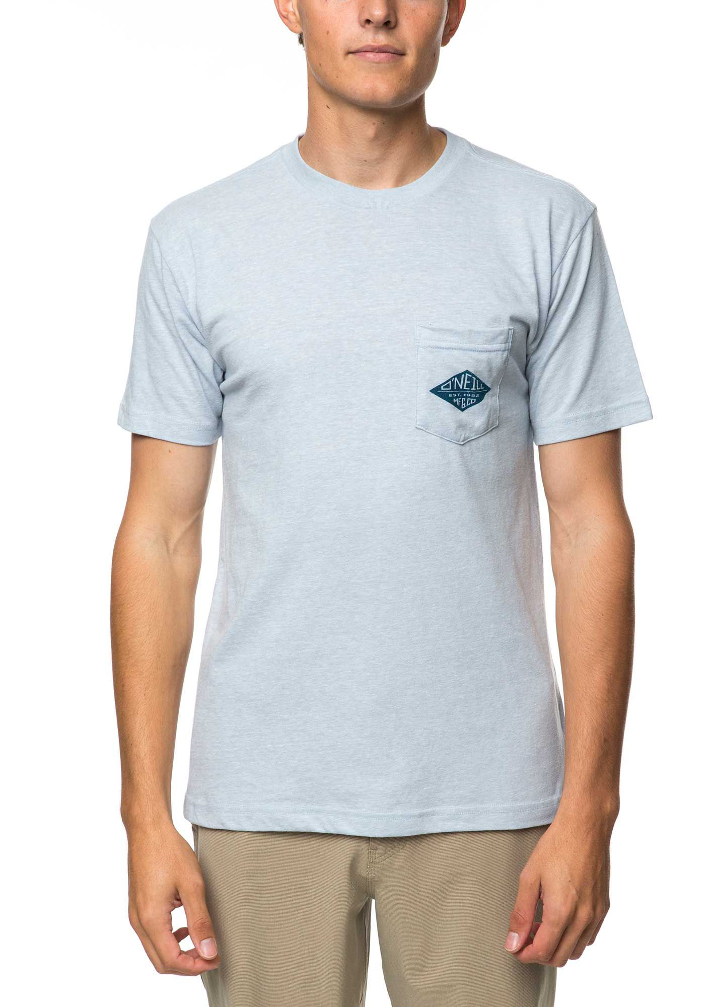 O'Neill Men's Diamonds Pocket Short Sleeve T-Shirt