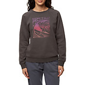 O'Neill Women's Flashback Fleece Crew Sweatshirt