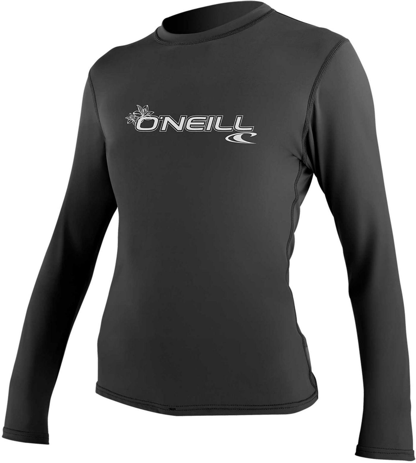 O'Neill Women's Basic Long Sleeve Rash Guard