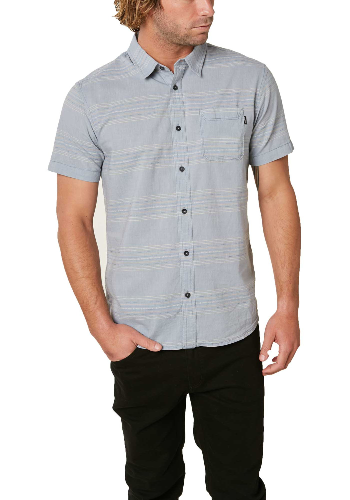 O'Neill Men's Pico Stripe Woven Button Down Shirt