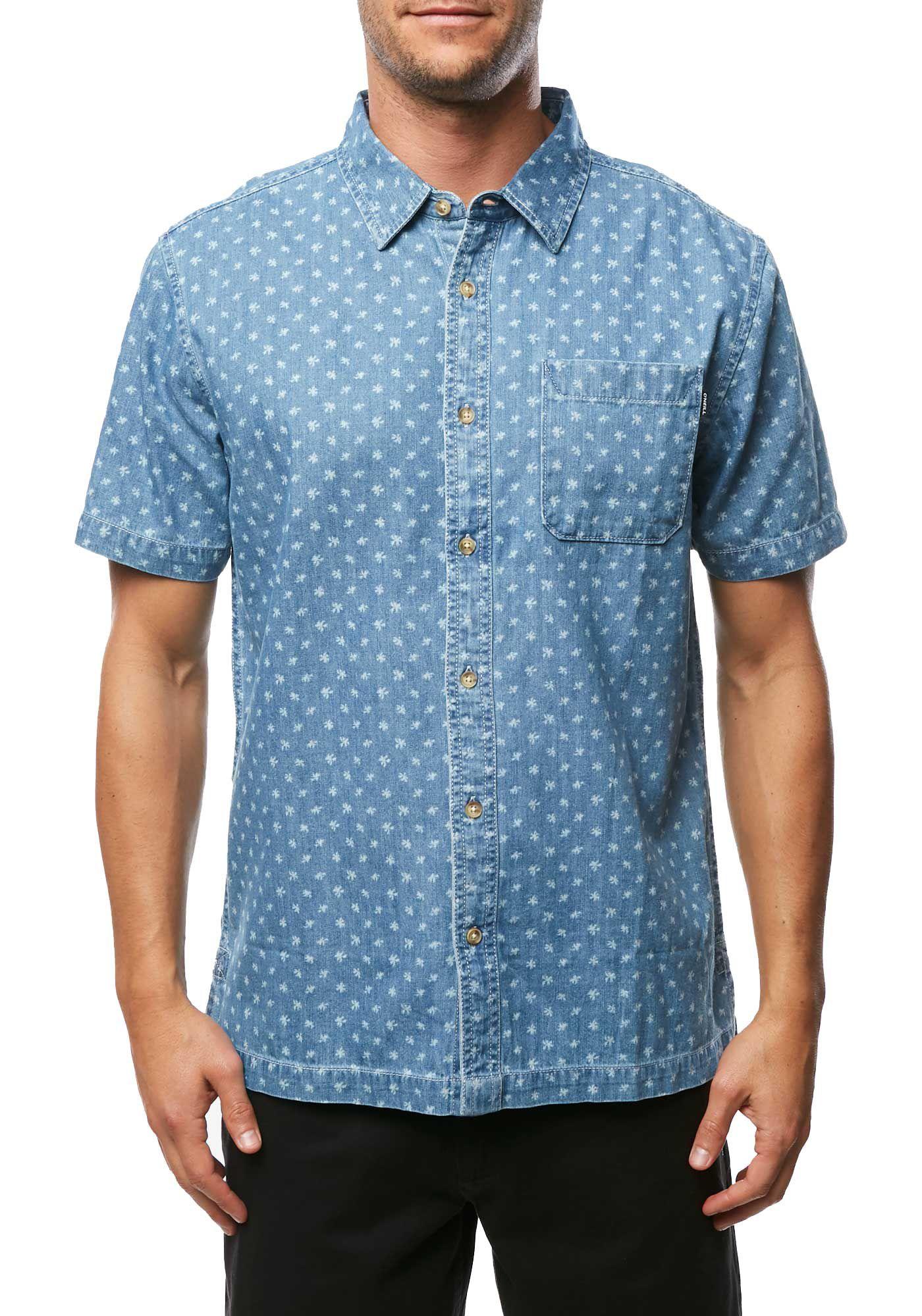 O'Neill Men's Palm Brawl Short Sleeve Shirt