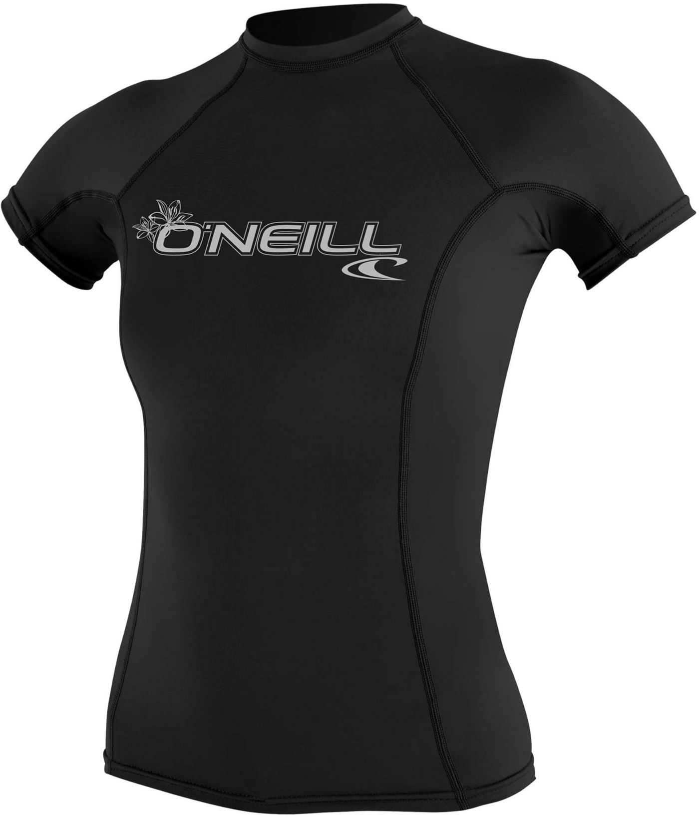 O'Neill Women's Basic Skins Short Sleeve Rash Guard