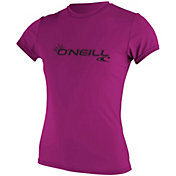 O'Neill Women's Basic Short Sleeve Rash Guard